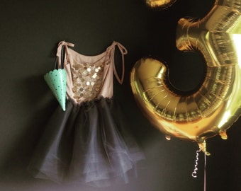 Shimmer and Shine Tutu dress