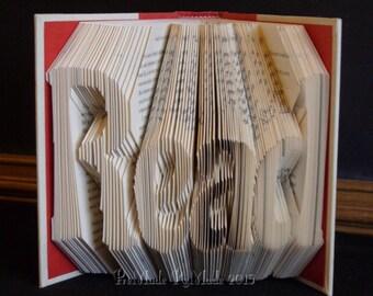 Read v7 - Folded Book Art
