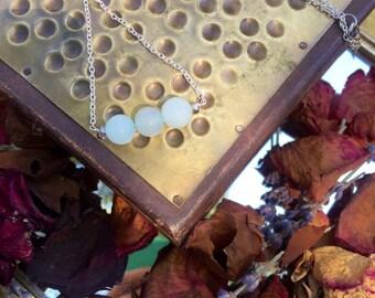 Delicate Jade Necklace