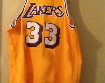 Abdul - Jabbar Lakers jersey