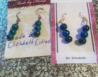 World earrings