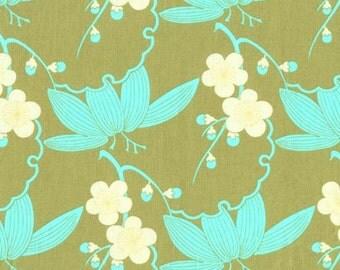 Midwestern Modern Amy Butler  Cotton Quilt Fabric  Free Spirit  Cherry Sand