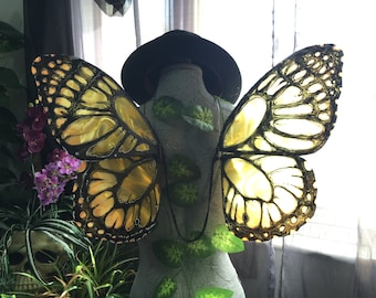 Monarch Style Butterfly Wings - Made to Order