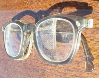 Vintage Safety Glasses