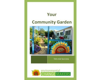 Your Community Garden, paperback garden book