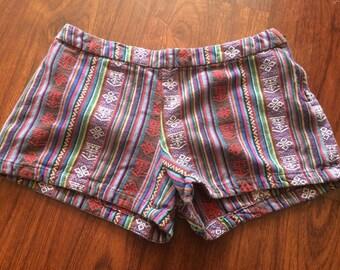 Vintage Free People sz 2 shorts/hotpants