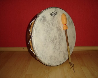 16'' Hand Drum with stick