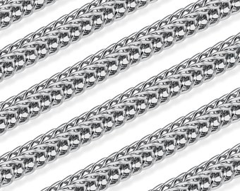 5 Ft 1.5 mm Steel Foxtail Chain  (ST39)