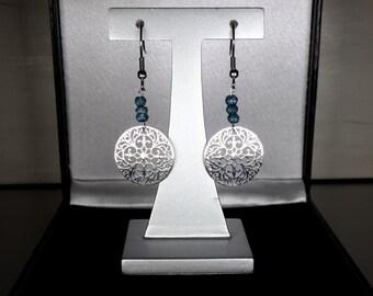 Blue London Topaze Earrings