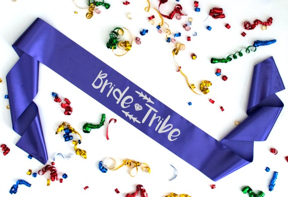 Bride Tribe sash discount on multiples bride to be bridesmaid mother of the bride groom maid of honour hen bridal bachelorette party 3113