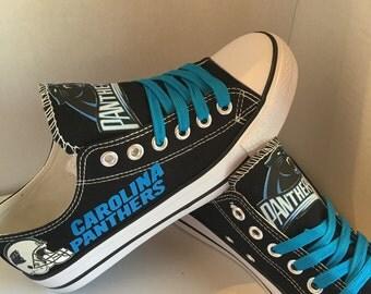 Carolina panther's tennis shoes
