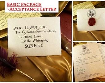 Harry Potter Hogwarts Acceptance Letter - BASIC