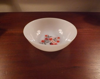 Fire King Primrose Pattern Dessert Bowls - Only 3 available!