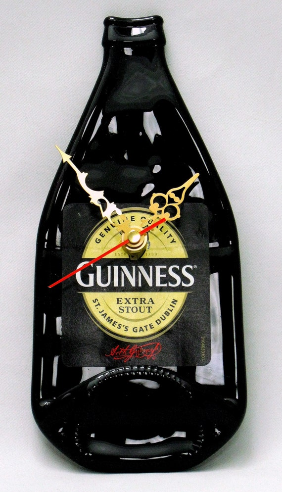 Guinness Bottle Clock