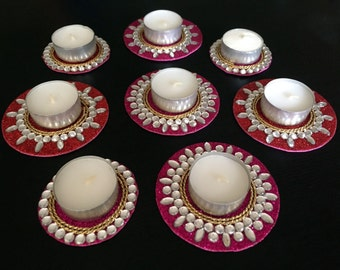 Tealight candle holder, floating tealight holder, Indian wedding decoration, Indian wedding favors, Bollywood party