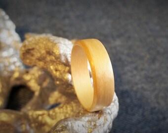 Ash Bent Wood Ring