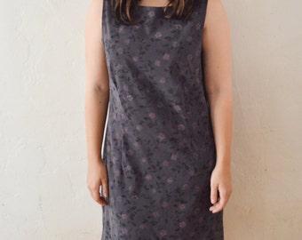 90's Grunge Floral Mini Dress