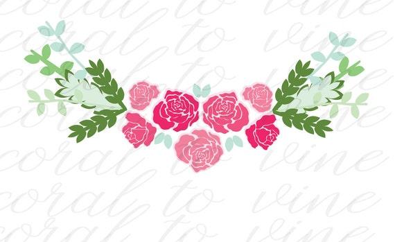 roses svg floral svg spring floral svg floral rose svg