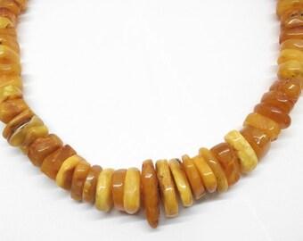 Amber necklace ButterScotchAmber 168gr. 90cm BK100