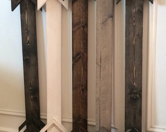 Rustic Wood Arrow