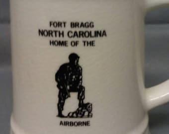 Fort Bragg North Carolina Home of the Airborne  Stein Mug