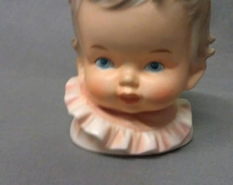 Inarco Baby Head Vase