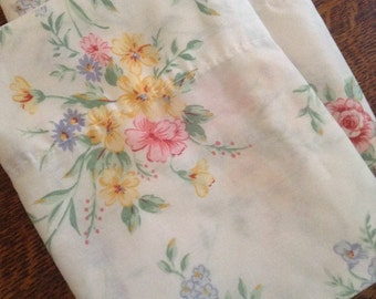 King Rose Floral Pillowcases- Cabin, Romantic, Flea Market, Shabby Chic, Cottage Style Decor