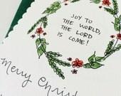 CUSTOM CARDS for Sarah C. / 50 Christmas Cards + Envelope Addressing