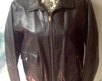 Vintage Jay Jacobs leather bomber
