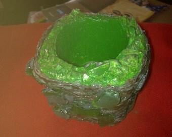 cement candle sticks MAN-AGKI-MAKR