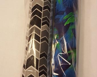 2 Pack Kitty Stix Black/White & Blue Fish *free shipping*
