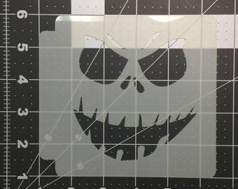 Scary Face Stencil 101