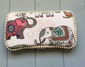 Elephants, Wipe Case, Wipes Case, Baby Wipe Case, Travel Wipe Case, Wipes Holder, Baby Wipes Case, Wipes Container, Baby Gift, Babyshower
