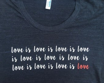 """Shop """"love is love"""" in Clothing"""