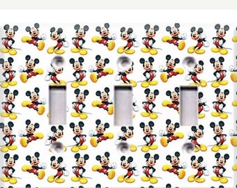 Mickey Mouse Bedroom-Mickey Mouse Nursery-Mickey Mouse Home Decor