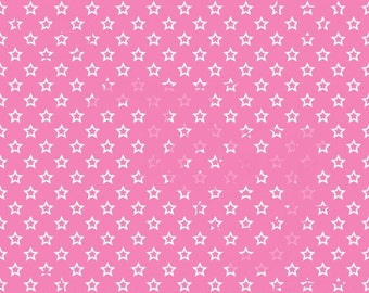 New Pricing and Packaging White Stars on Pink Cardstock Paper