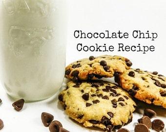 99 Cent Recipe-Gluten Free Chocolate Chip Cookie Recipe- Chocolate Chip Cookies- Sunshine's Gluten Free Flour- Homemade Gluten Free Cookies