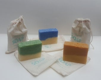 All Natural Cold Processed Shea Butter and Goat's Milk Soap