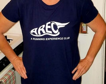 AREC Ladies Performance T-Shirt A Running Experience Club Members Only
