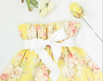 High Waisted Baby Vintage Style Skirt