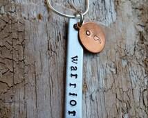 Semicolon. Semicolon necklace.  Suicide survivor.  Survivor necklace. My story isn't over yet.  Warrior. Depression awareness.Suicide