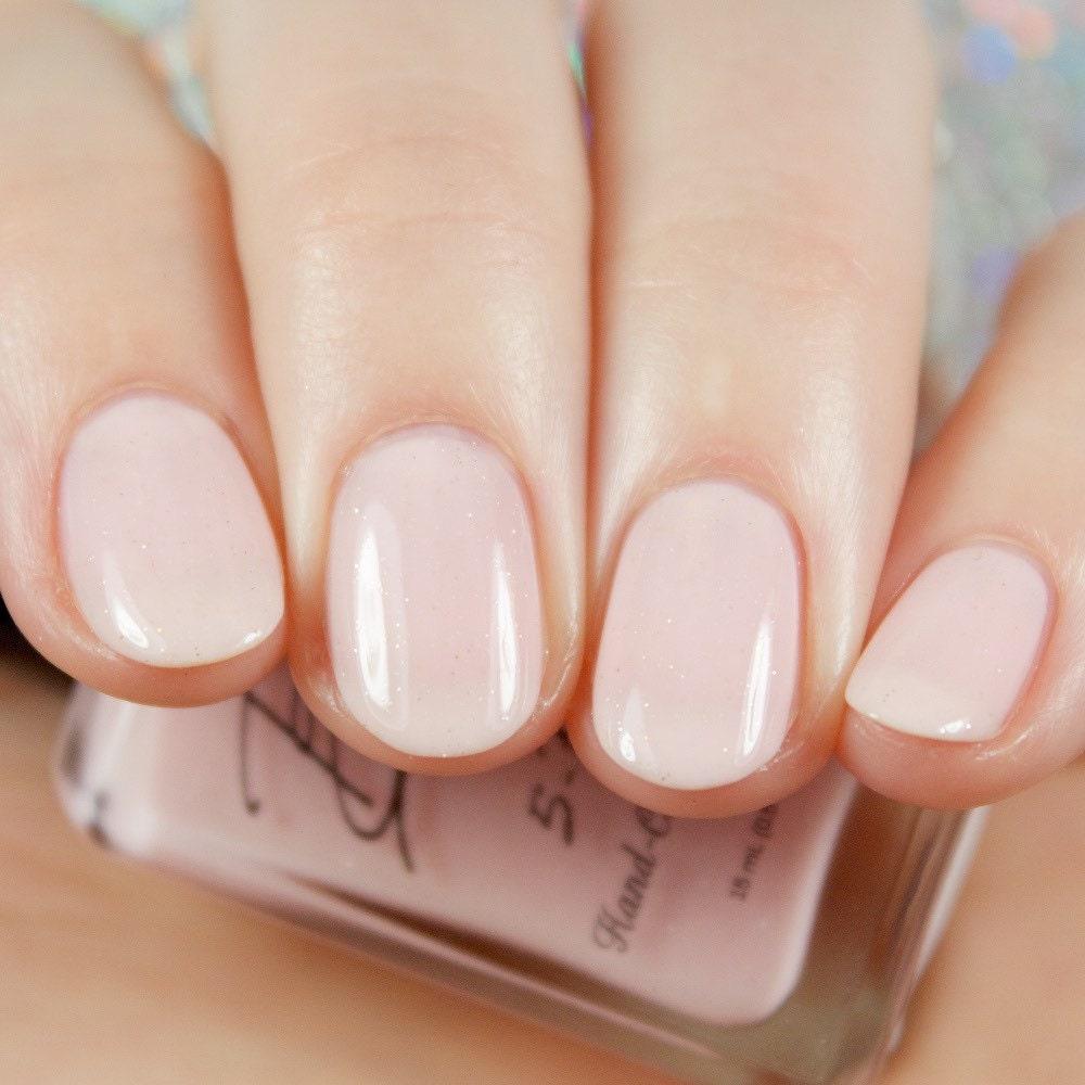 Sheer Pink Opi Nail Polish: Sheer Class Sheer Pink Nail Polish With Micro By BellaBosio