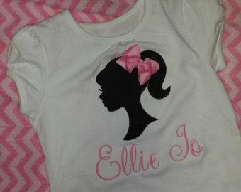 Barbie Inspired Birthday Shirt