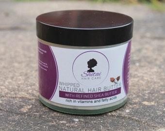 Natural Whipped Shetai Hair Butter 250ml |Natural hair butter | Hair Care| Moisturising hair cream | Organic Shea Butter mixture |