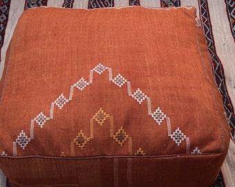 BEST OFFER for chrisymas;kilim pouf;moroccan poufs; handmade ; berber woman;moroccan ottoman; furniture;luxe pouf; kilim poufs;24x24x10