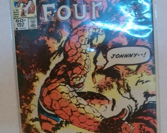 1984 The Fantastic Four #263 Reed Richards & Sue Richards R and R  Good Vintage Marvel Comic Book