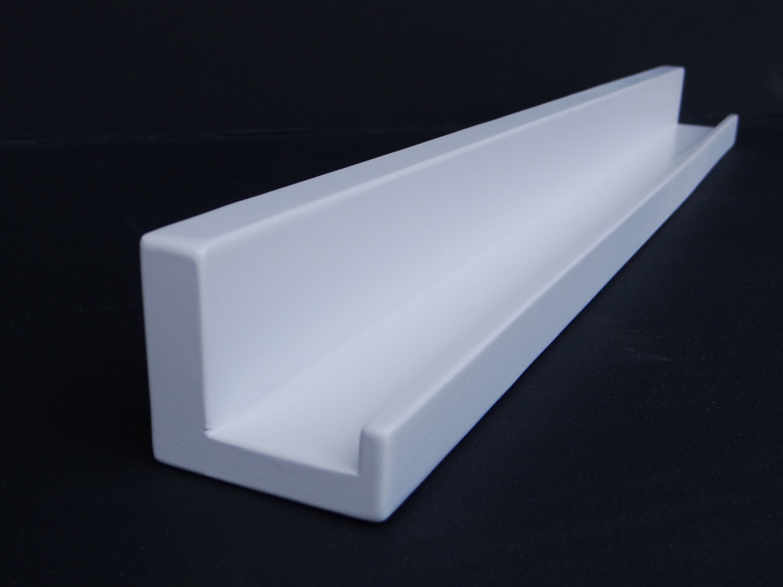 ultra narrow floating ledge shelf picture ledge you choose. Black Bedroom Furniture Sets. Home Design Ideas