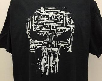 Punisher Skull & Guns T-Shirt