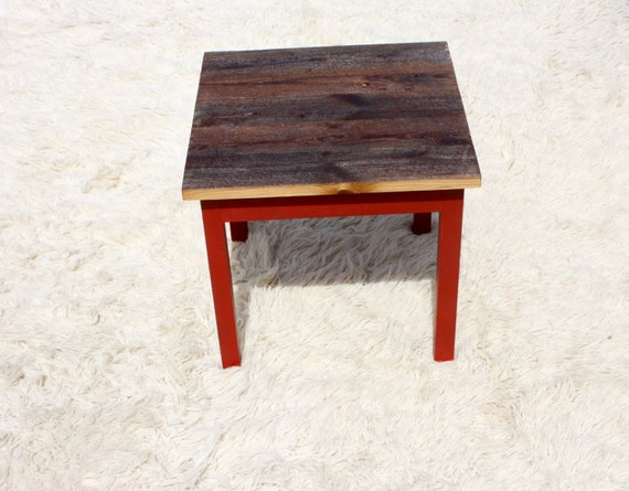 Items Similar To Reclaimed Wood Furniture End Table Reclaimed Wood End Table Furniture Night