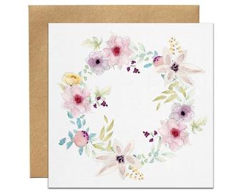 Watercolour Invitation | Floral Invitation | Bridal Shower Invitation | Baby Shower Invitation | Printed Invitation Set | Australia